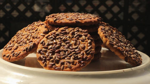 Cookies rotate 1 Footage