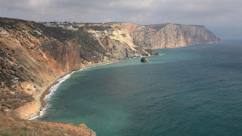 South Coast of the Black Sea Footage