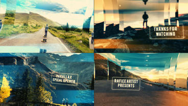 Parallax Epical Opener After Effects Template