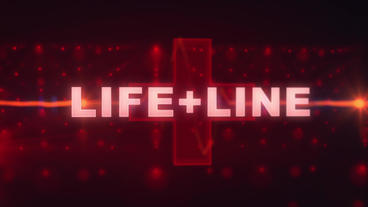 Life+Line - Medical Logo Stinger stock footage