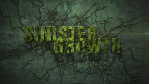 Sinister Growth - Creeping Organic Mess Logo Stinger After Effects Template