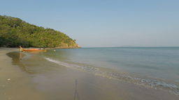 tropical bay on ko lanta Footage