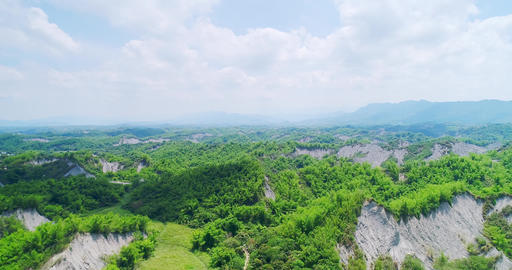 aerial of tainan erliao scenery, Live Action