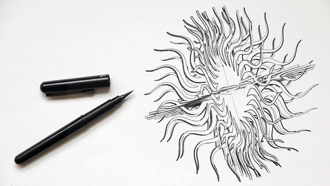 Design creativity drawing creative Footage