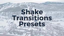 Shake Presets Premiere Pro Template