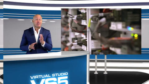 Virtual Studio 5 After Effects Template