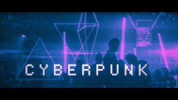 Cyberpunk Premiere Pro Template