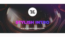 Stylish Intro Premiere Pro Template