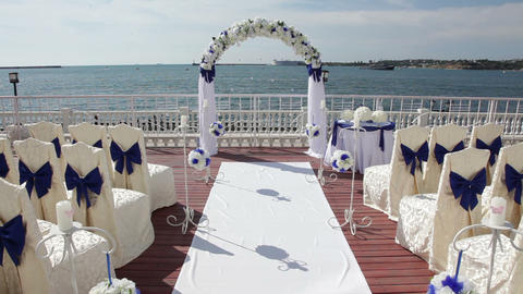 Wedding Ceremony By The Sea Live Action