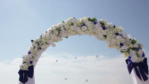 Wedding Arch Live Action