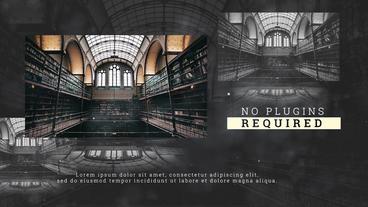 History Slideshow Premiere Pro Template