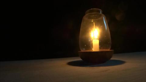 Candle on the beach GOA Footage