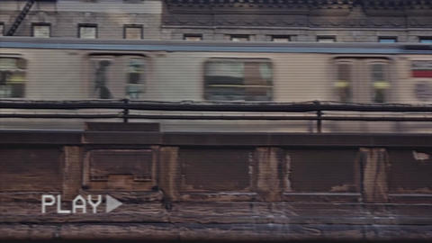Glitch Opener VHS Premiere Pro Template