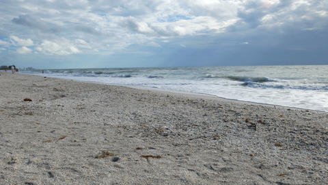 Panoramic view of the Barefoot Beach State Preserve Live Action