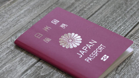 Japanese passport identification document Live Action