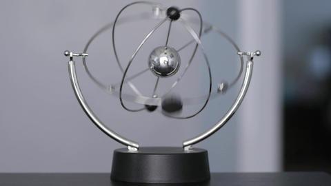 Kinetic Orbital Electromagnetic Pendulum Footage
