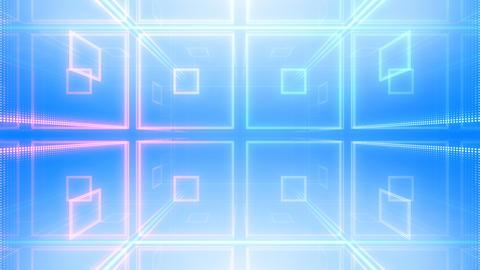 LED Room 2 B BaF2 4k CG動画