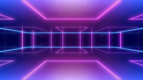 LED Room 2 B CaF1 4k CG動画