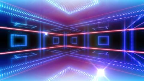 LED Room 2 B CaR1 4k CG動画