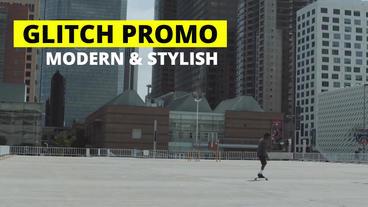 Glitch Promo Premiere Proテンプレート