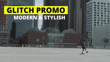Glitch Promo Premiere Pro Template