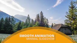 Minimal Slideshow Premiere Pro Template