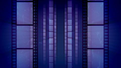 Impressive Retro Film Tape Movement Animation