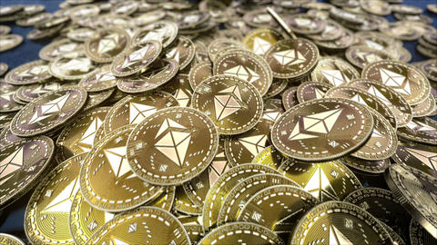 Falling coins resource ETHEREUM cryptocurrency GIF