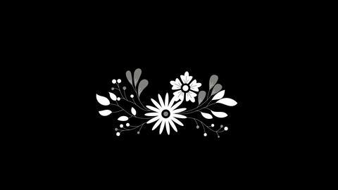 Wedding ornaments with flowers 3 ビデオ