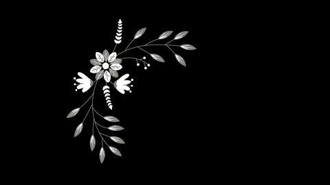 Wedding ornaments with flowers 1 ビデオ
