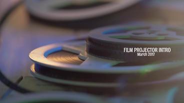 Film Projector Intro Premiere Pro Template