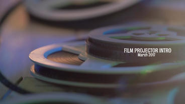 Film Projector Intro Premiere Pro Template