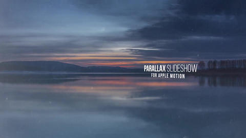 Cinematic Parallax Opener - Slideshow Apple Motion Template