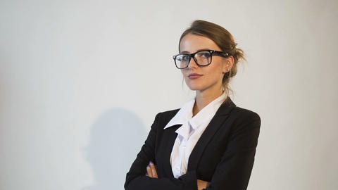 Attractive Businesswoman's Portrait Archivo