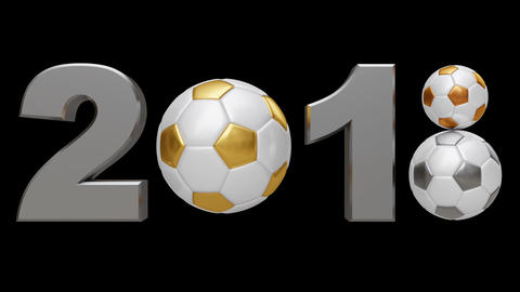 Soccer 2018 v2. Looped Animation