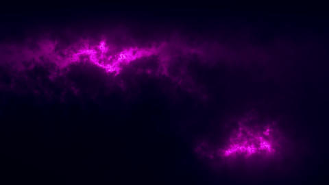 Purple Sci-Fi Sky Clouds Loopable Motion Graphic Background Animation