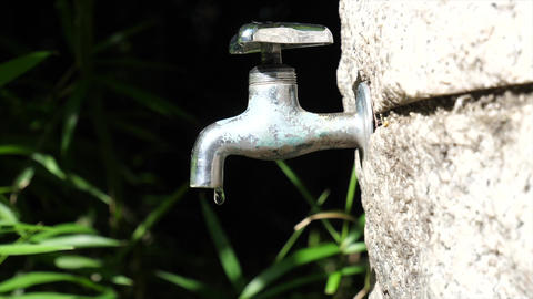 faucet And Water supply Footage