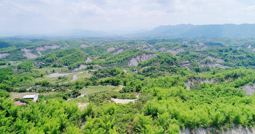 aerial of tainan erliao scenery Live影片