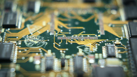 Circuit Board Tech 7 stock footage