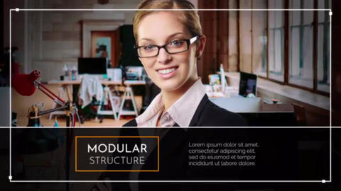 Minimal Corporate Slideshow After Effects Template