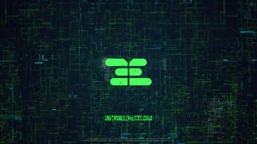 Digital Logo Premiere Pro Template