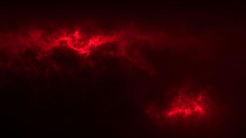 Red Sci-Fi Sky Clouds Loopable Motion Graphic Background GIF