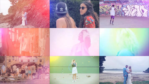 23 Light Leaks After Effects Template