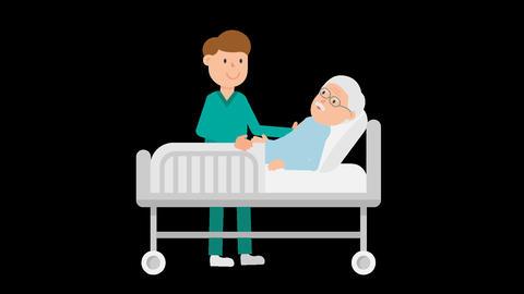 Patient Care Loop Stock Video Footage