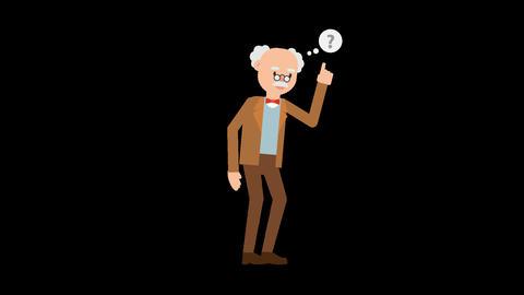 Professor Thinking Animation