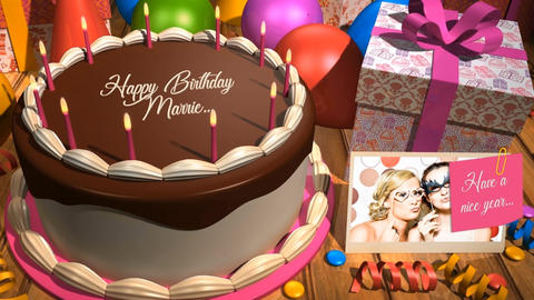 BIRTHDAY CAKE After Effects Template
