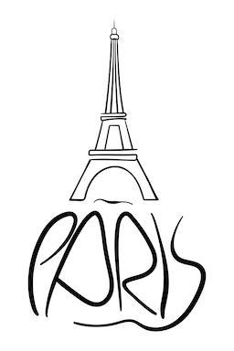 Paris Calligraphy Fotografía