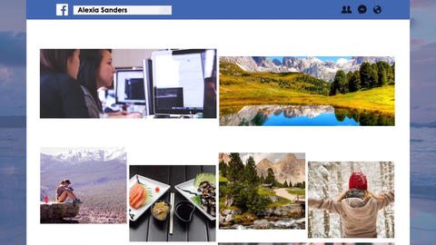 Facebook Page Promo After Effects Template
