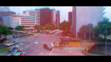 Terminator Opener Plantilla de After Effects