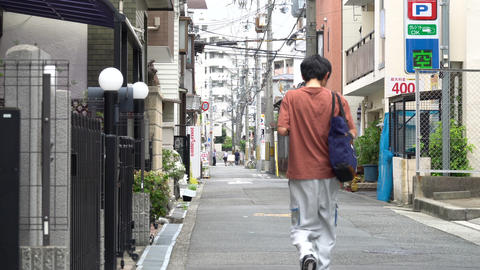 Street road hometown japan 路地1 people Archivo